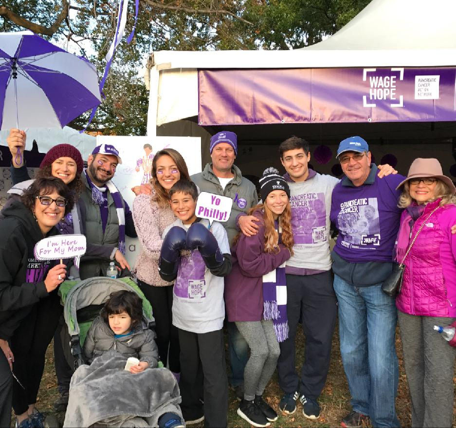 PurpleStride Philadelphia 2019: FSP - Family and Friends in